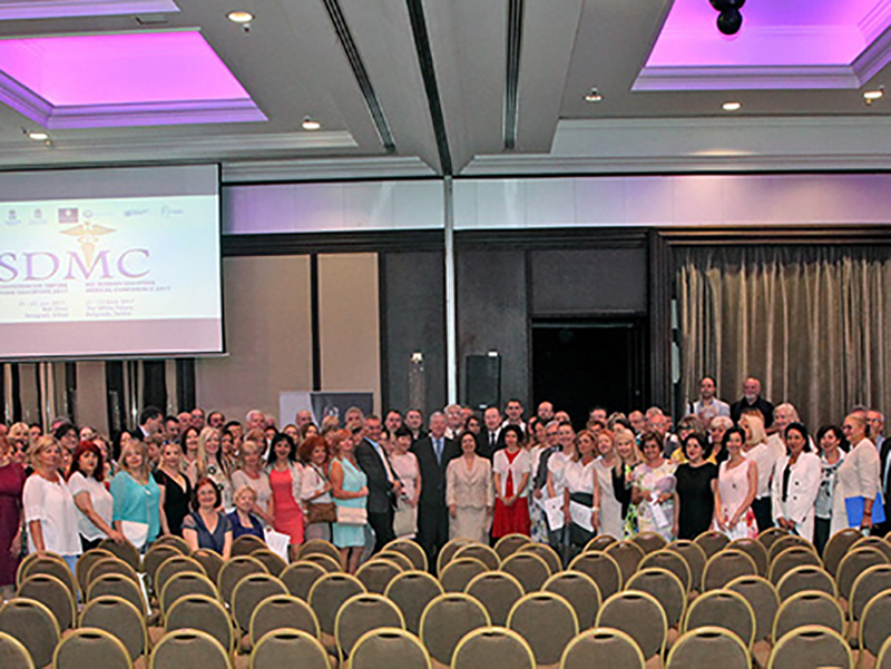 ROYAL COUPLE OPENS 8 SERBIAN DIASPORA MEDICAL CONFERENCE