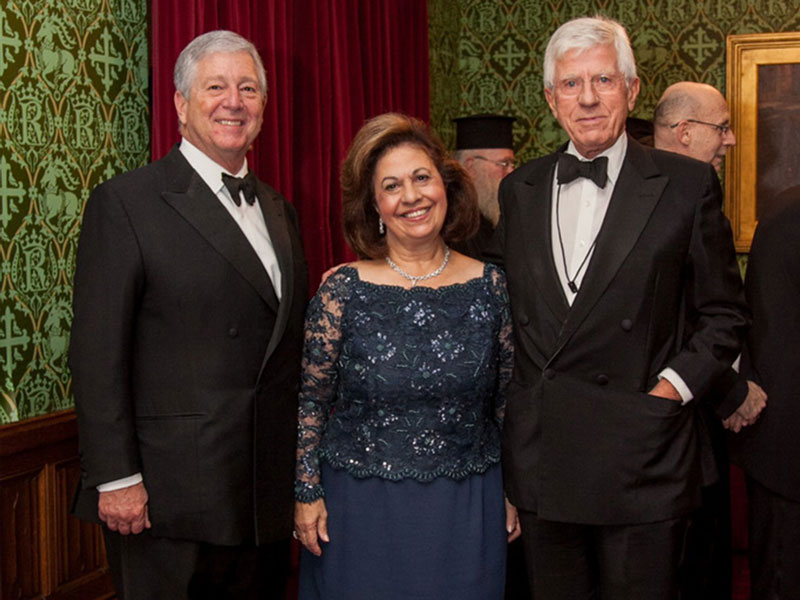 CROWN PRINCE AND CROWN PRINCESS ATTEND 20TH ANNIVERSARY OF SERBIAN SOCIETY IN HOUSE OF LORDS LONDON